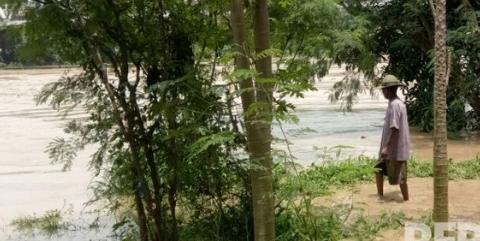 Sungai Cimanuk Meluap, Ribuan Rumah Warga di Empat Desa Terendam