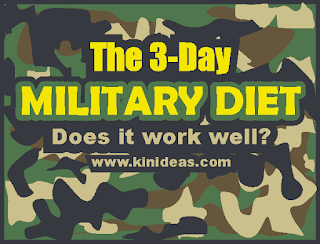 Does The 3 Day Military Diet Work Effectively