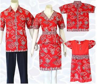 Dress Batik Keluarga dan Anak