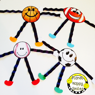 Sport Ball People ~ Planet Happy Smiles