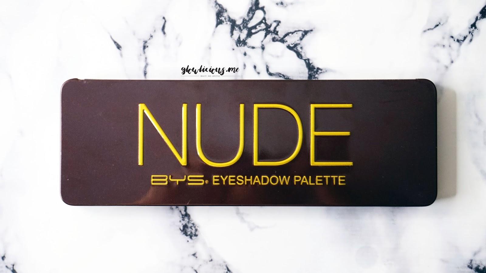 BYS Nude Eyeshadow Palette