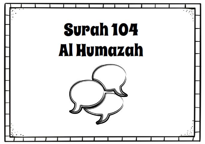 Surah 104 - Al Humazah | TJ Homeschooling
