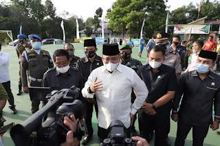 Gelorakan Olahraga di Masa Pandemi, Bupati Muba Bangun Sarana Olahraga Tiap Kecamatan