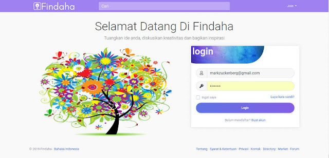 Findaha - Sosial Media Indonesia