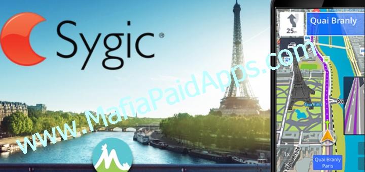 Sygic Gps Navigation and Maps apk+data v17 1 11 Cracked