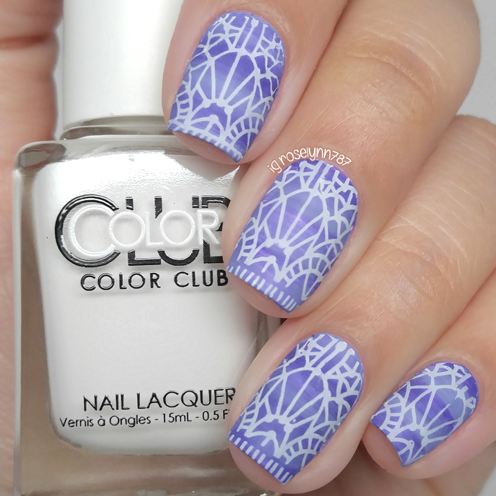 Nail art color violet - What Do You Think It S Kind Of Funky Looking Right Like The Background Wants To Be A Gradient But It Doesn T Quite Reach The Mark And Ends Up Looking