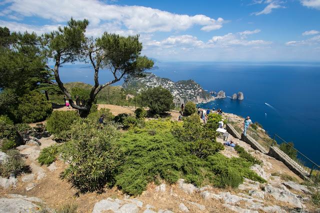 Panorama dal Monte Solaro-Anacapri-Capri