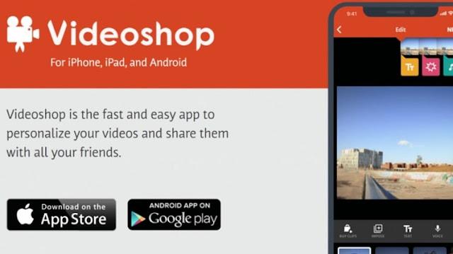 Edit Video dengan Aplikasi Videoshop