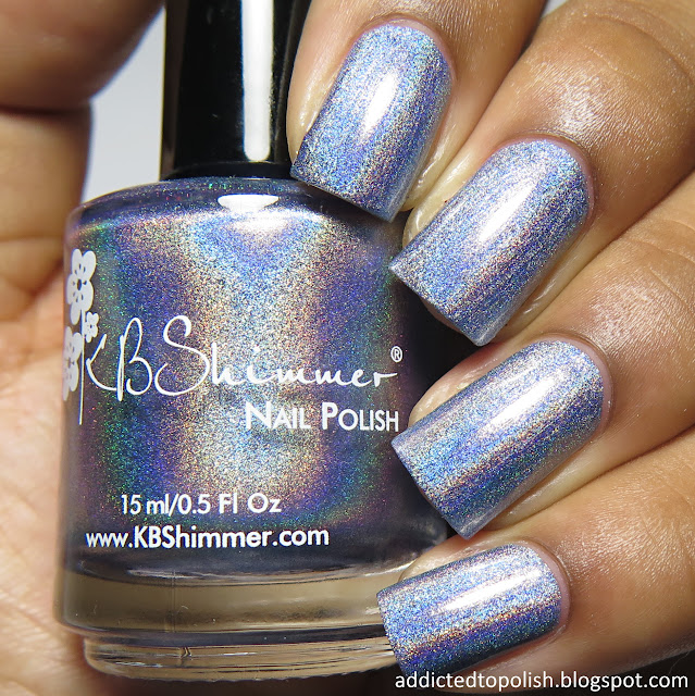kbshimmer purrfectly pawsome spring 2015 blue holo