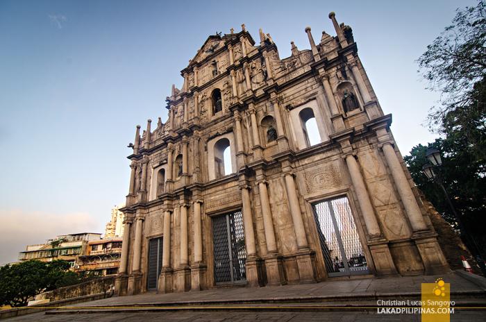 Unesco Ruins of St. Paul's Macau China