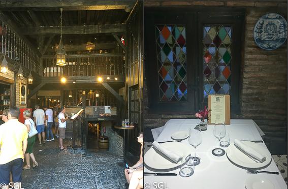 Restaurante El Portalon. Comer en Vitoria
