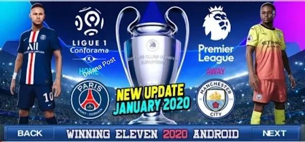 Winning Eleven Mod Apk Terbaru Update 2020, Berserta Tips Download nya.