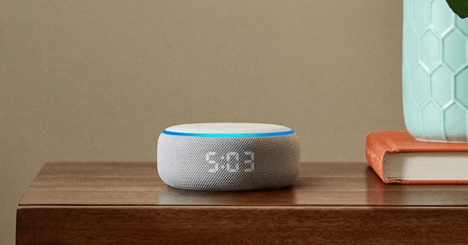 Sorteio de um Amazon Echo Dot