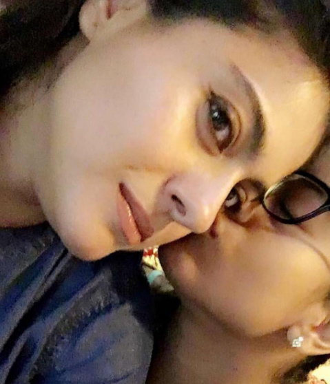 Kajol's  daughter in fun time with mother