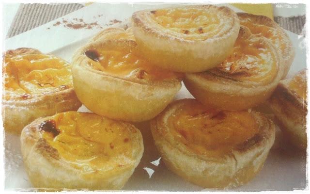 Pastéis de Nata - Receitas do Mundo - Portugal