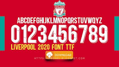 Font Liverpool 2020
