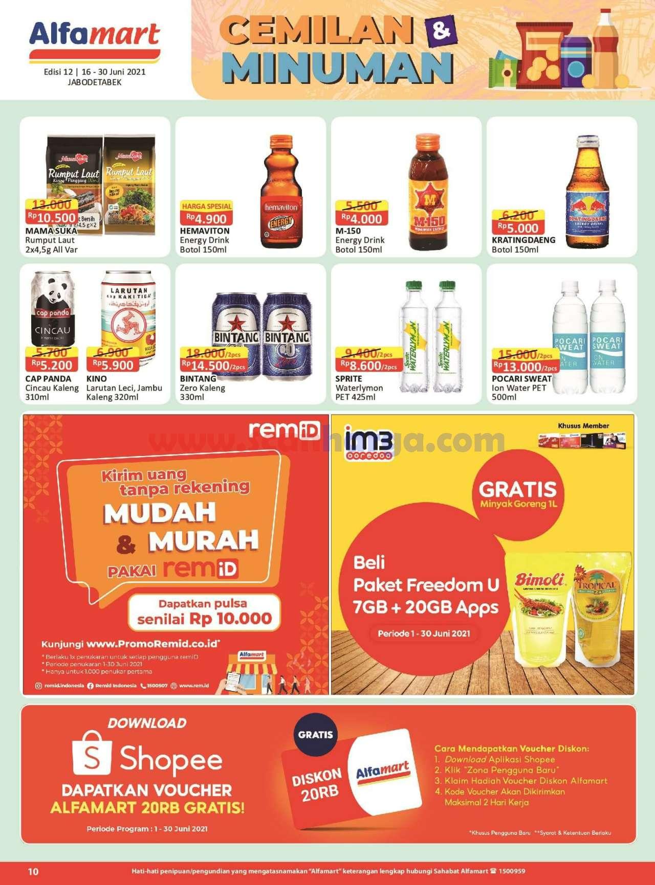 Katalog Promo Alfamart 16 - 30 Juni 2021 10