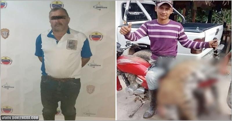 CICPC detuvo al asesino del Jaguar de Barinas ( No se parece nada )
