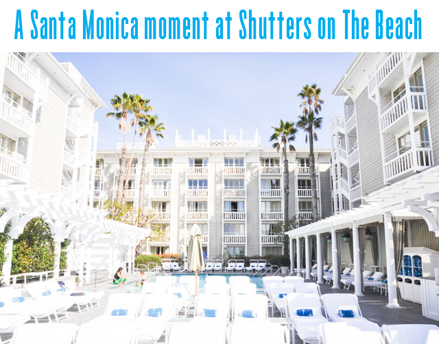 Shutters on The Beach, Santa Monica hotel