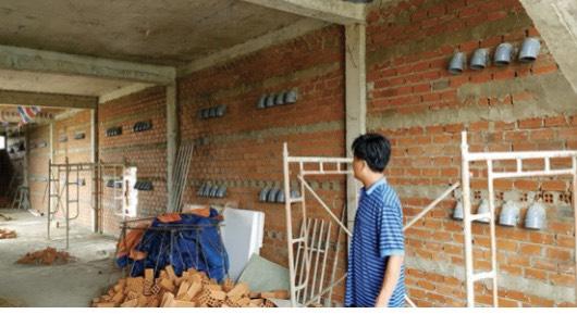 Quy trình xây dựng phần thô nhà nuôi yến Tầm Cao Việt