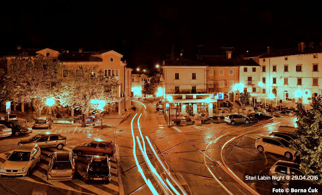 Stari grad Labin by Night @ www.istra-photo-tours.eu 29.04.2016