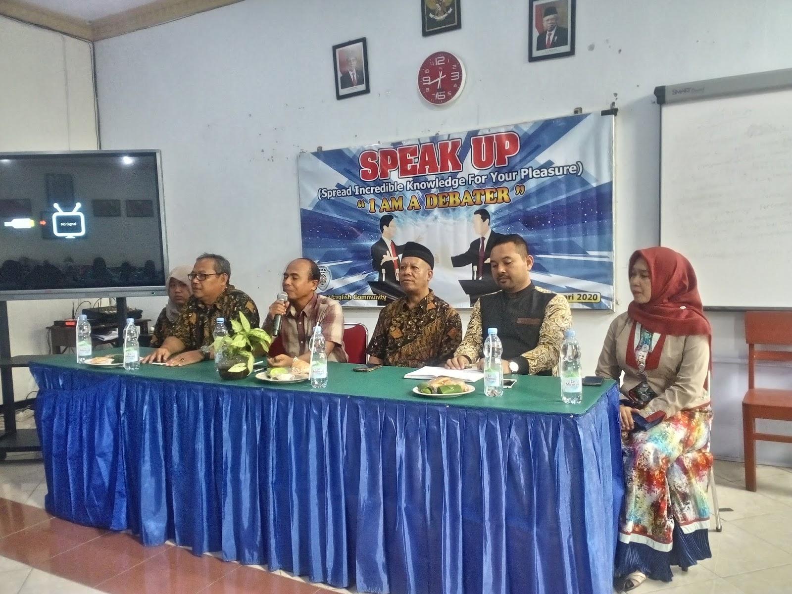 Kunjungan English Club SMPN 2 Sugihwaras