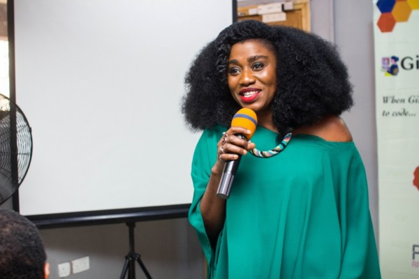 TY Bello at Lady Labs Innovation Hub