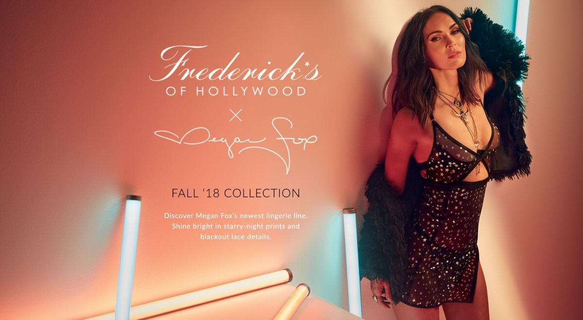 Fredericks of Hollywood Lingerie Fall 2018 Collection