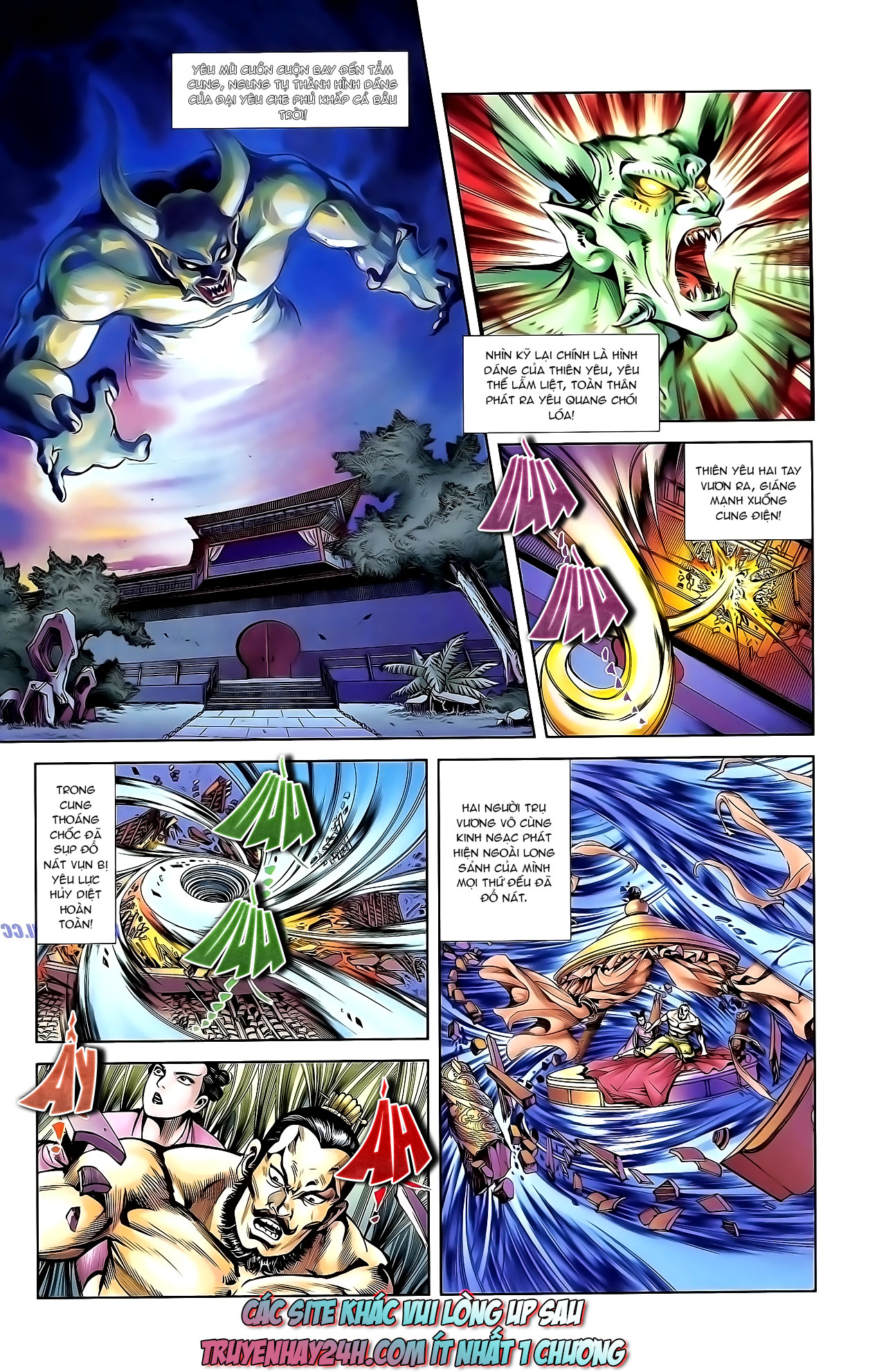 Cơ Phát Khai Chu Bản chapter 135 trang 31