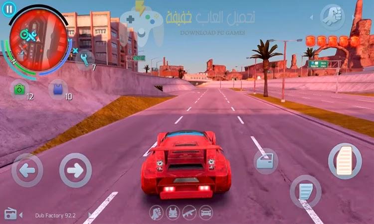 تحميل لعبة Gangstar Vegas للكمبيوتر مضغوطة