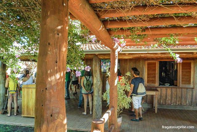 Centro de visitantes da Fazenda Sucuri, Bonito