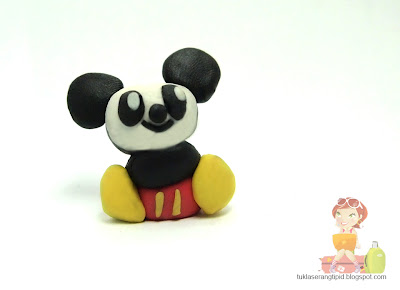 clay baby mickey mickey mouse handcrafts arts creative DIY