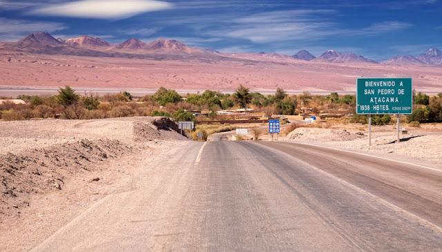 Tempo de viagem de Santiago do Chile a San Pedro de Atacama