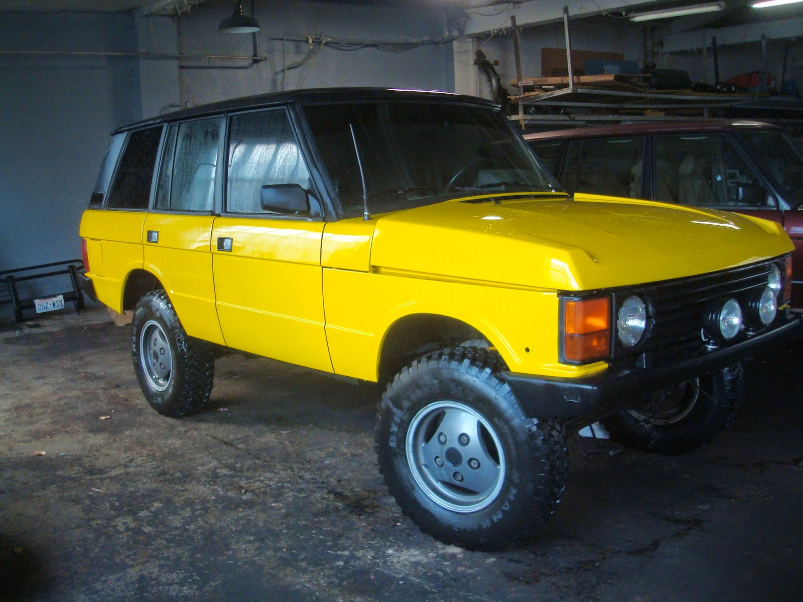Laughs And Lashings 1989 Range Rover tdi sel & 5 speed