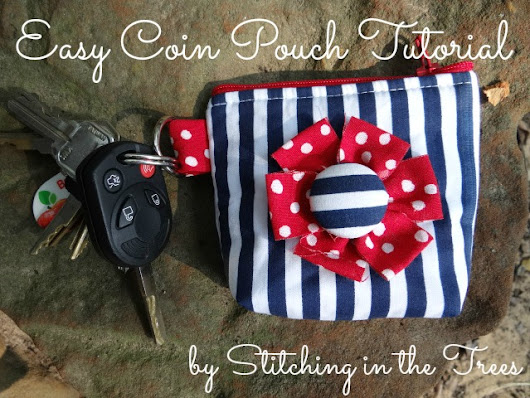 Easy Coin Pouch Tutorial