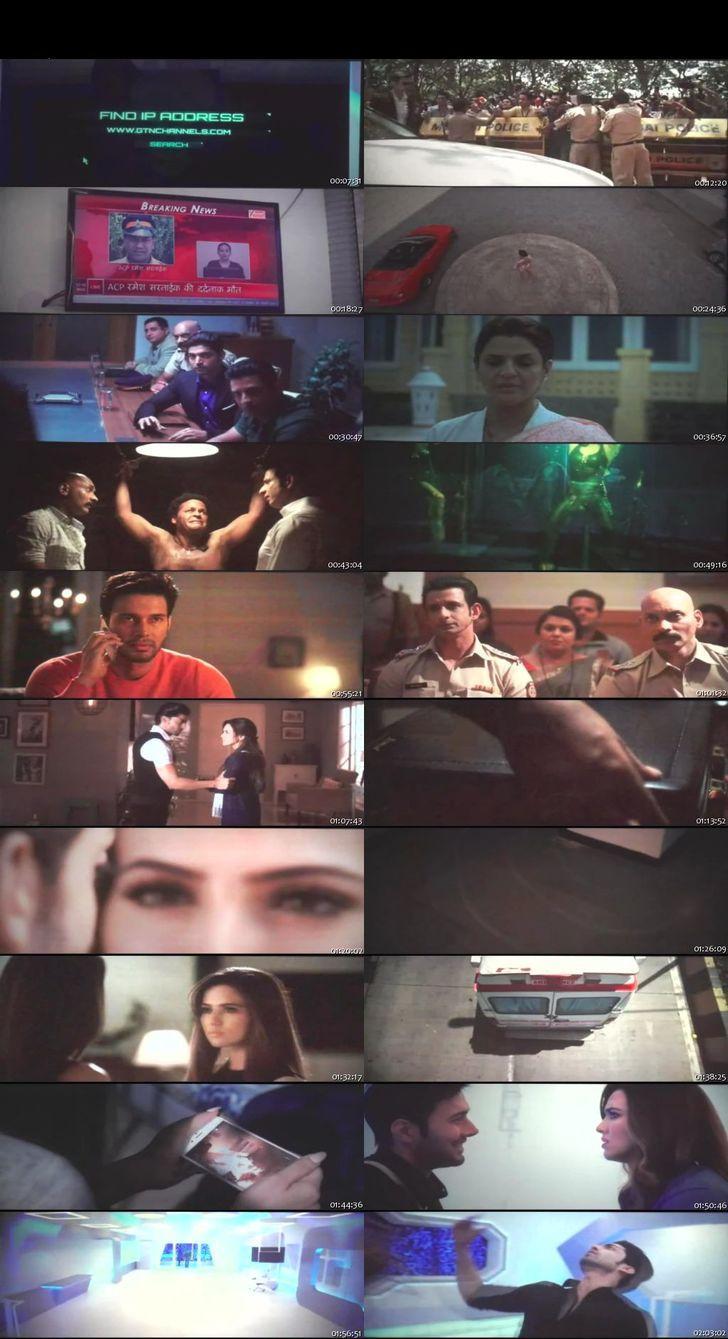 Screen Shot Of Wajah Tum Ho 2016 300MB Pdvd Full Hindi Movie Watch Online Free Download