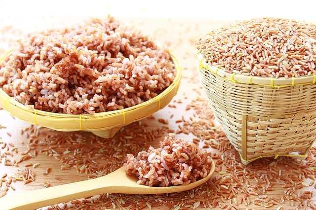 طريقة طبخ الرز الأحمر العضوي وفوائده