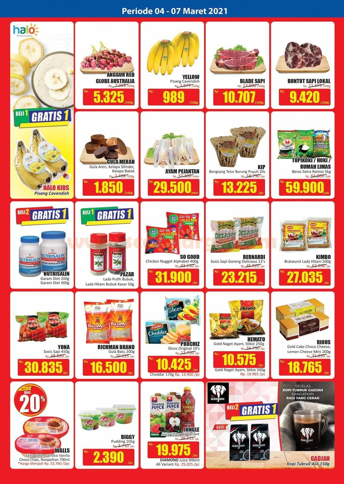Katalog Promo JSM Hari Hari Swalayan Weekend 4 - 7 Maret 2021 2