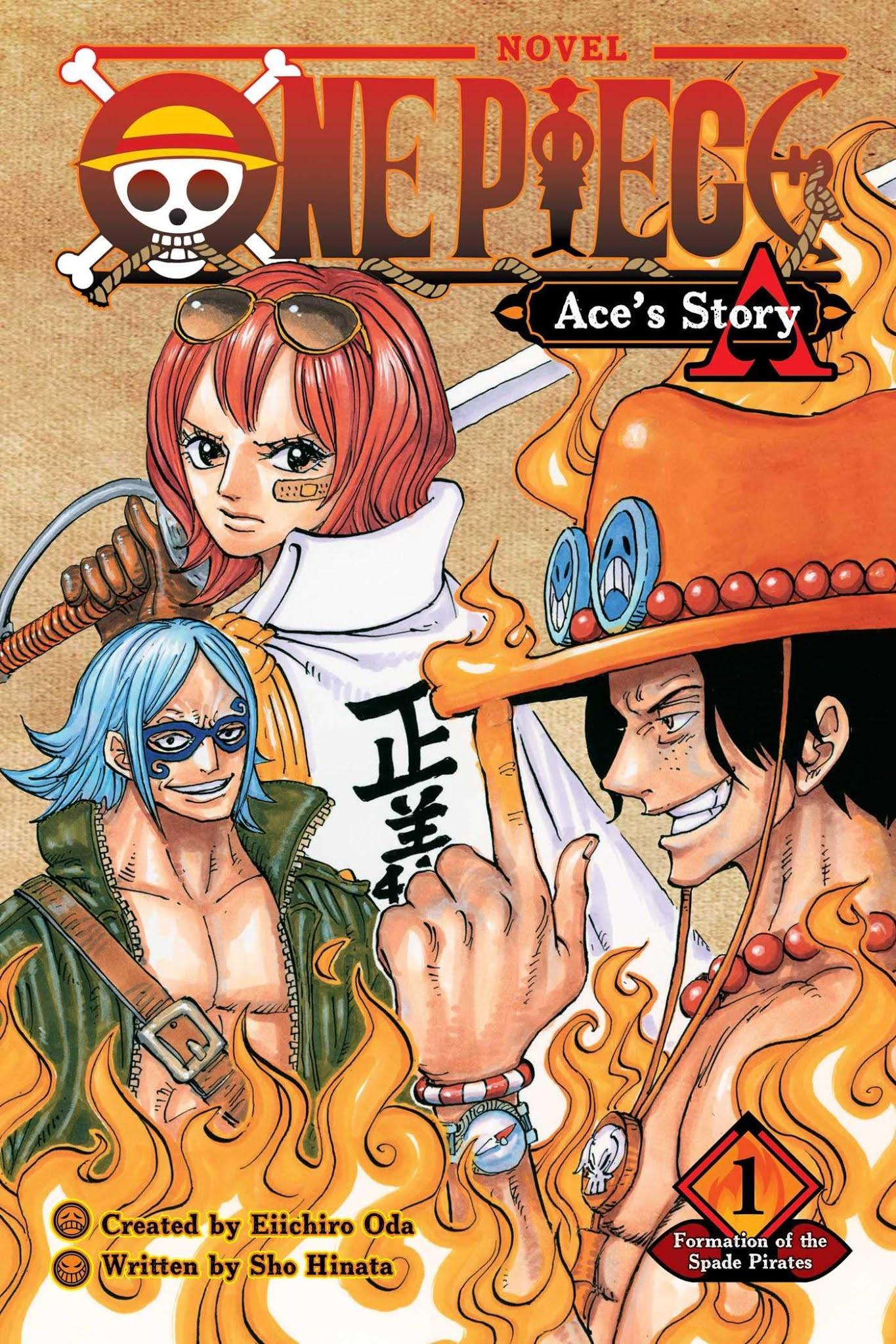رواية One Piece: novel A(ce) الفصل 4