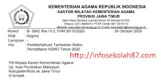 Akhirnya Kebijakan Penambahan Waktu Untuk Pendaftaran KSMO Tahun 2020