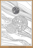 astronomy coloring pages for adults printable