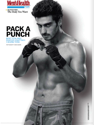 Arjun Kapoor on the cover page of Mens Health-May issue