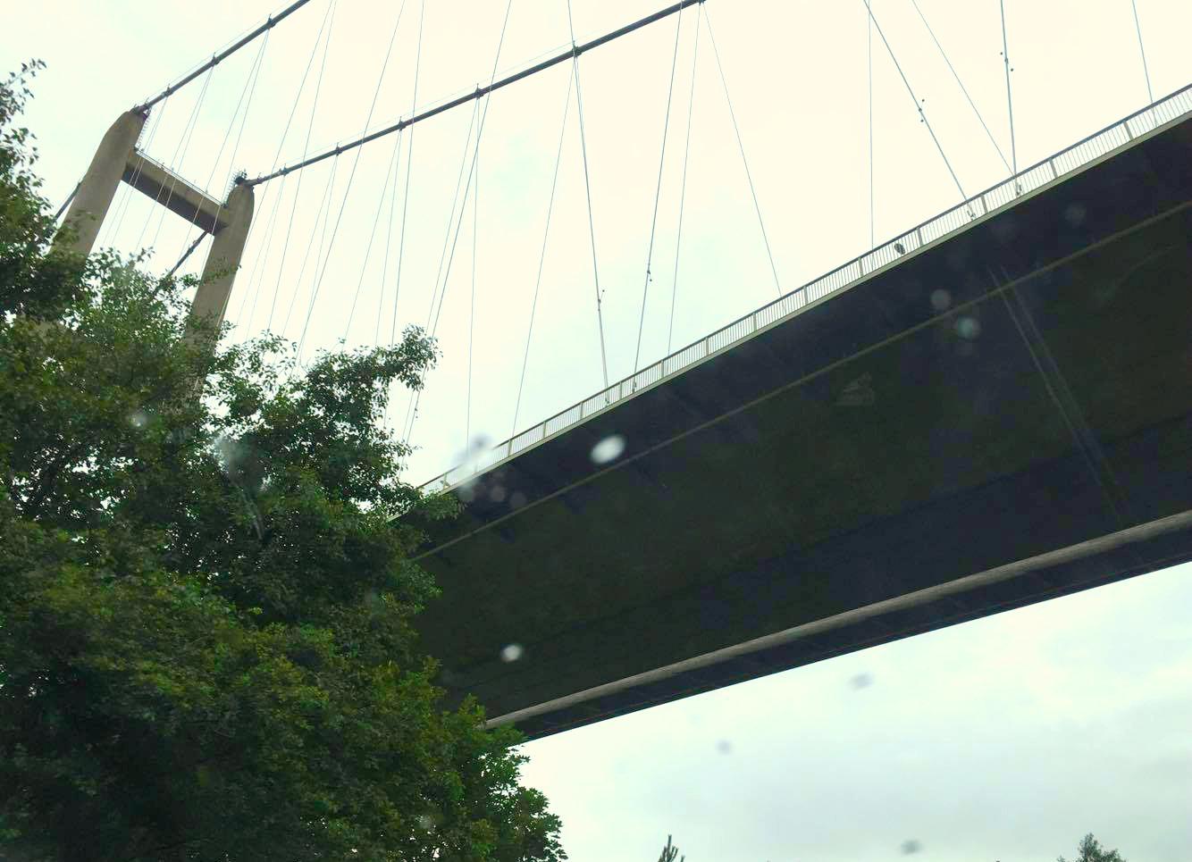 humber bridge, humberside, hull, university, kexgill, house,
