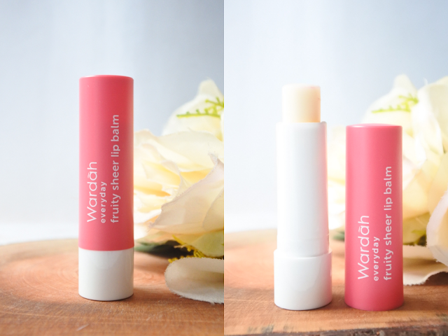 Wardah Fruity Sheer Lip Balm