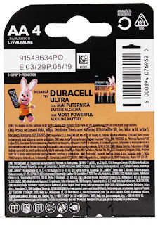 batteria duracell basic mn1500