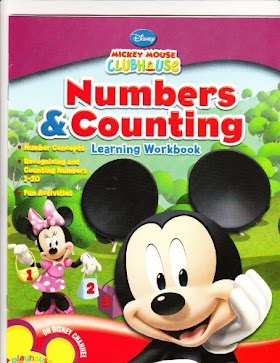 Mickey Mouse Clubhouse Numbers and Counting Workbook