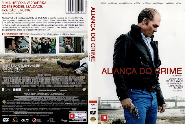 Capa DVD Aliança do Crime