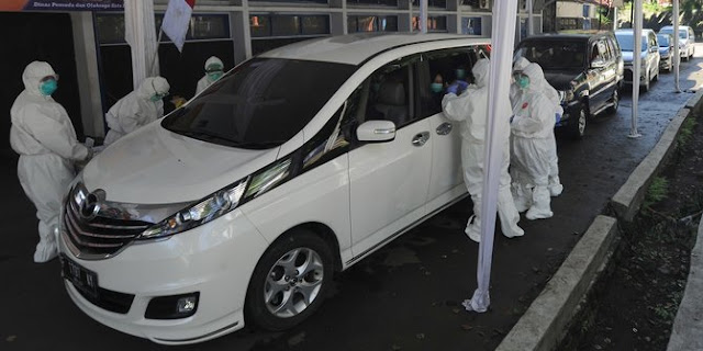 Ribuan Warga Kota Bandung Akan Rapid Test Corona di GBLA dengan Sistem Drive Thru