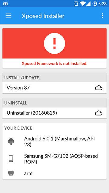 Ini Lah Cara Terbaru Memasang Xposed Installer di Android (OS ICS - Oreo) - Update 2018