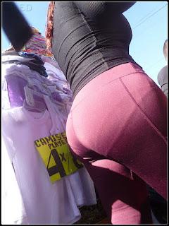 Mujeres nalgonas pantalones yoga